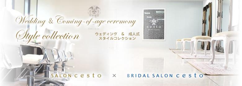 cesto(チェスト)は富山県富山市堀川にある美容室(ヘアサロン)・ブライダルサロンです。ヘアスタイル・ブライダル情報をお届け致します。
