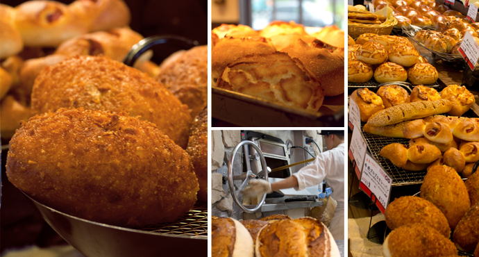 富山のパン屋さんパン・オーレ